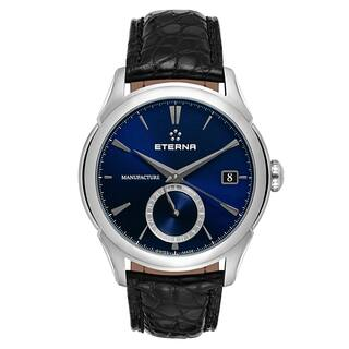 Eterna Men's 1948 Legacy 1948 Legacy GMT Navy Automatic Watch|https://ak1.ostkcdn.com/images/products/15617263/P22050697.jpg?impolicy=medium