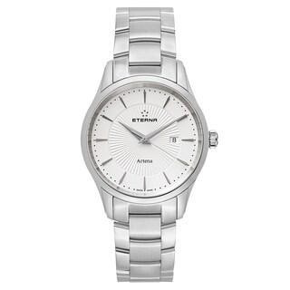 Eterna Men's Artena Silver Quartz Watch