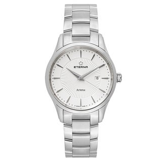 Eterna Men's Artena Silver Quartz Watch