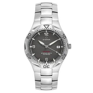 Eterna Men's Monterey Black Quartz Watch