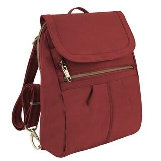 Travelon Anti-Theft Signature Slim Fashion Backpack