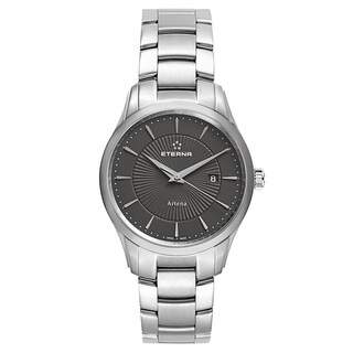 Eterna Men's Artena Black Quartz Watch