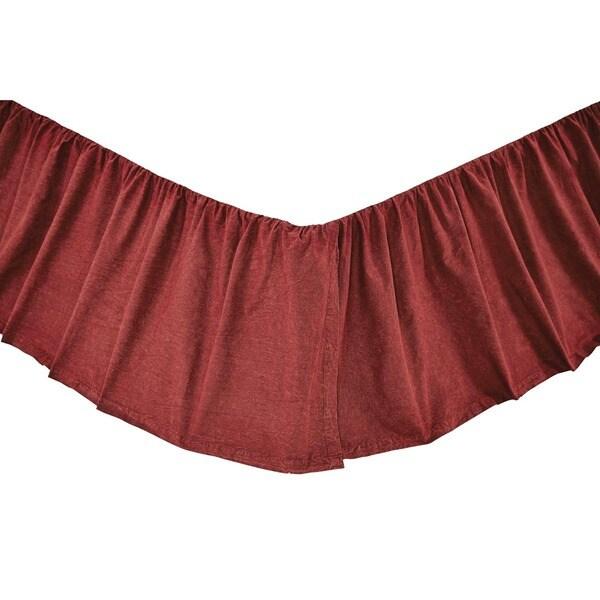 Cheyenne American Red Bed Skirt