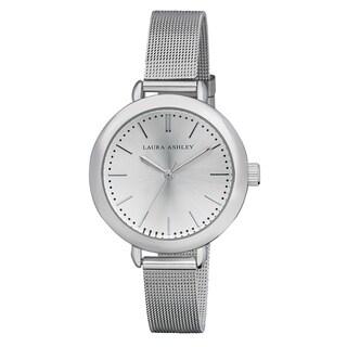 Laura Ashley Ladies Silver Mesh Watch