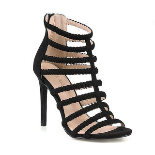 Mark and Maddux Oscar-10 Strappy Women's High Heel Sandals