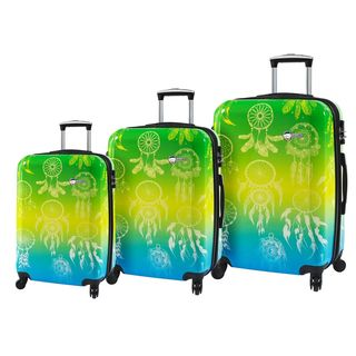 MIa Toro ITALY Love This Life Dream Catcher 3-piece Hardside Spinner Luggage Set