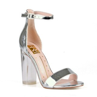 Fahrenheit Rosy-02 Single Sole Women's Clear High Heel Sandals