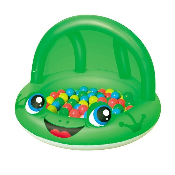 Bestway 38 Inch Frog Shaded Play Pool
