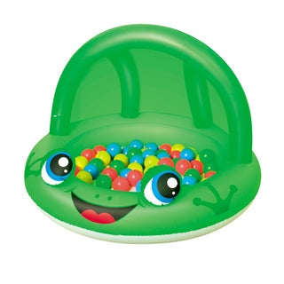 Bestway 38 Inch Frog Shaded Play Pool