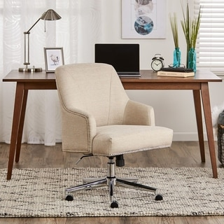 Serta Leighton Home Office Chair, Stoneware Beige