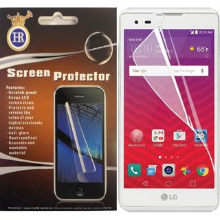 Insten Clear Tempered Glass LCD Screen Protector Film Cover For LG Tribute HD/ X STYLE