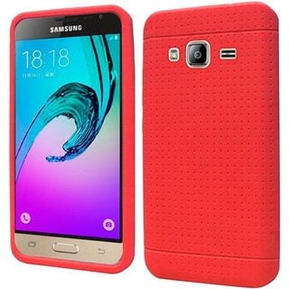 Insten Soft Silicone Skin Rubber Case Cover For Samsung Galaxy Amp Prime/ J3 (2016)