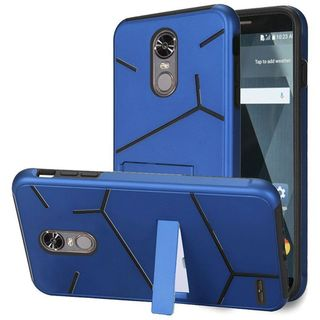 Insten Hard Snap-on Dual Layer Hybrid Case Cover with Stand For LG Stylo 3 LS777/ K10 Pro/ Stylus 3/ Stylo 3 Plus
