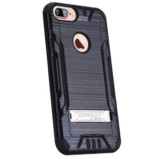 Insten Hard Snap-on Dual Layer Hybrid Case Cover with Stand For Apple iPhone 7 Plus