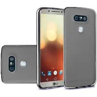 Insten TPU Rubber Candy Skin Case Cover For LG G6