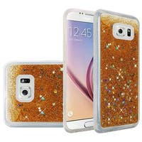 Insten Hard Snap-on Glitter Case Cover For Samsung Galaxy S6 SM-G920