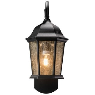 Maximus Coach Black Aluminum and Glass Companion Light