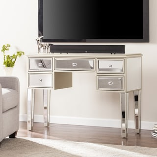 Minna Glam Mirrored Console/Desk - Champagne