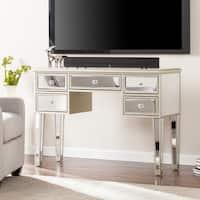 Minna Glam Mirrored Console/Desk - Champagne