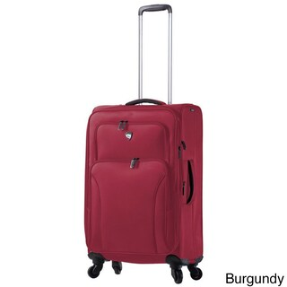 Mia Toro ITALY Elio 24-inch Expandable Spinner Upright Suitcase