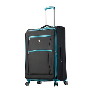 Mia Toro ITALY Piuma 28-inch Expandable Spinner Upright Suitcase