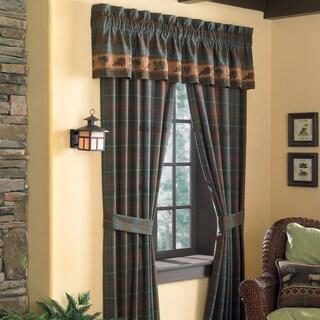 Croscill Caribou 84-inch Rod Pocket Curtain Panel Pair