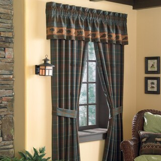 Croscill Caribou 84-inch Rod Pocket Curtain Panel Pair