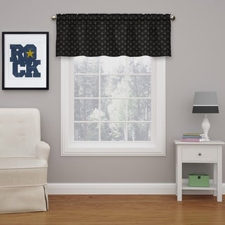 Eclipse Kai Thermaweave Blackout Curtain Valance
