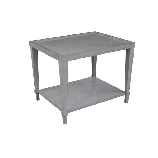 Soho Grey Wood End Table