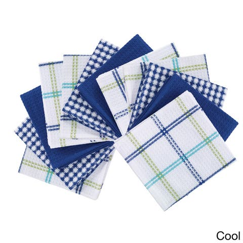 Buy Blue Kitchen Towels Online at Overstock | Our Best Table