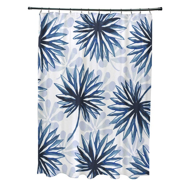 Spike and Stamp, Floral Print Shower Curtain