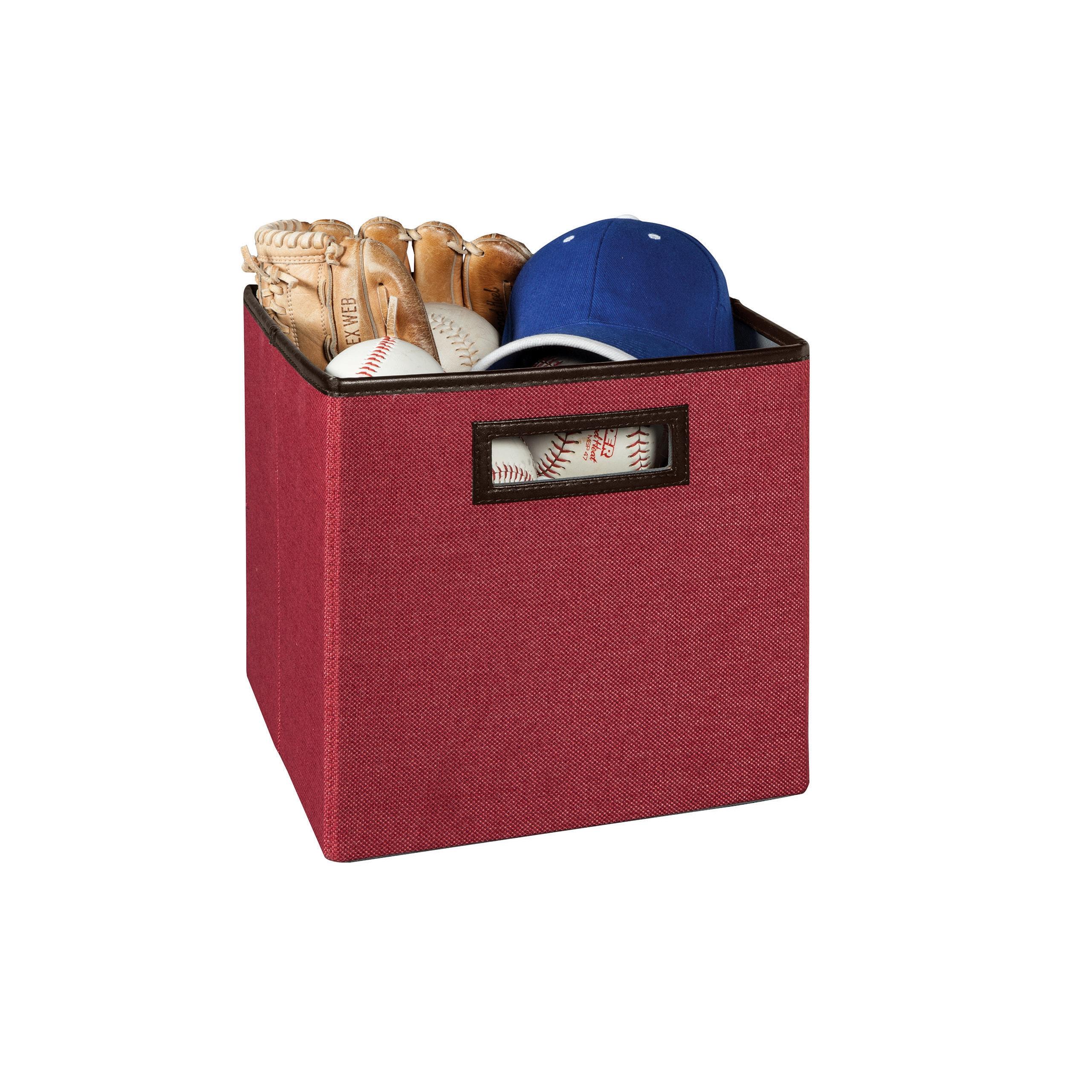Closetmaid Premium Cubeicals Fabric Storage Bin (Rose Red...
