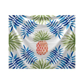 Pineapple and Spike, Geometric Print Tapestry