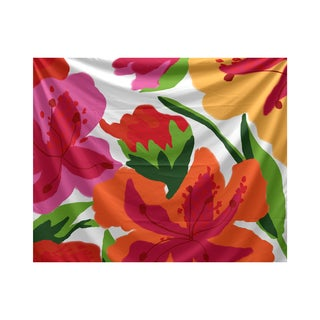 Tropical Floral, Floral Print Tapestry