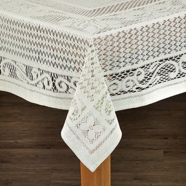 Shop Chantilly Crochet Cotton Tablecloth Imported From Spain Free