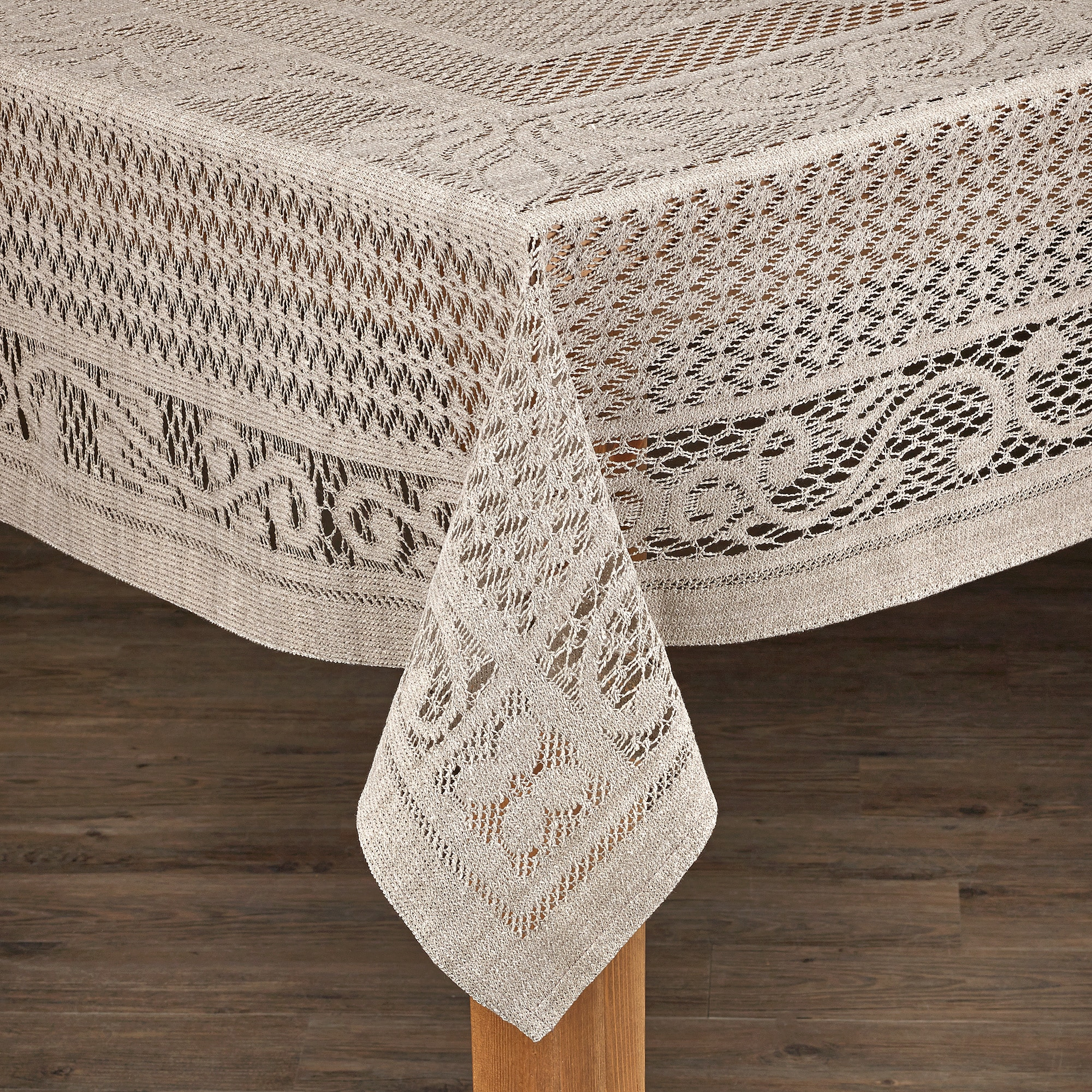 Chantilly Crochet Cotton Tablecloth Imported from Spain (...