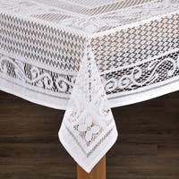 Chantilly Crochet Cotton Tablecloth Imported from Spain