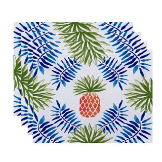 Pineapple and Spike, Geometric Print Placemat