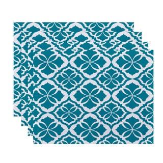 Ceylon, Geometric Print Placemat