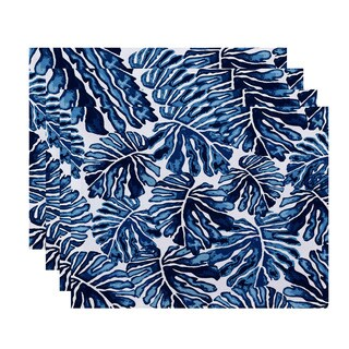 Palm Leaves, Floral Print Placemat