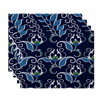 West Indies, Floral Print Placemat