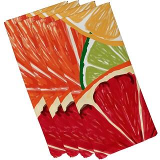 Lemonade, Geometric Print Napkin