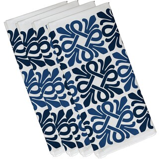 Tiki Square, Geometric Print Napkin