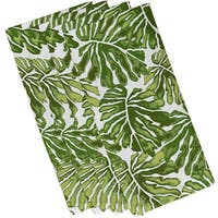 Palm Leaves, Floral Print Napkin