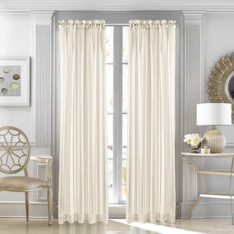 Five Queens Court Farmington Sheer Single Curtain Panel