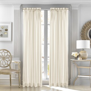 Five Queens Court Farmington Sheer Single Curtain Panel