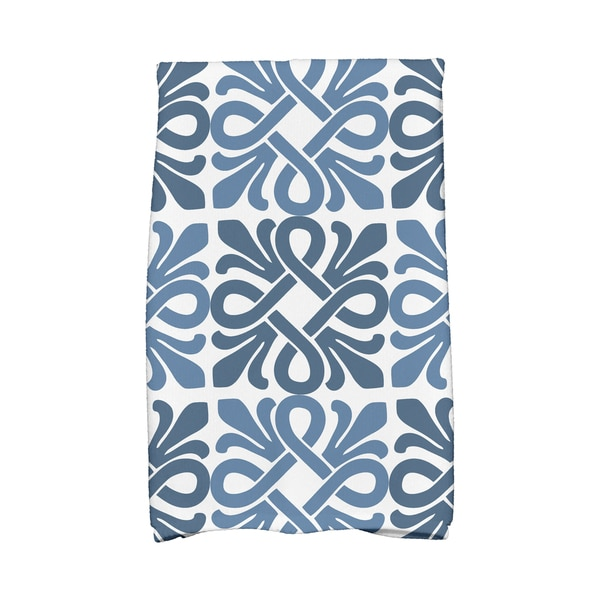 Tiki Square Geometric Print Hand Towels