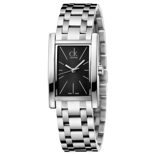 Calvin Klein Women's Refine Stainless Steel Black Swiss Quartz Watch