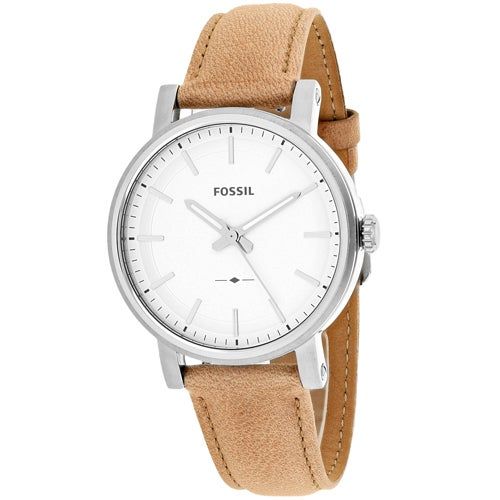 Fossil Women's ES4179 Boyfriend Watches (Silver) (leather)