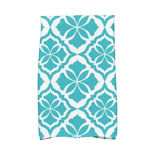Ceylon Geometric Print Hand Towels